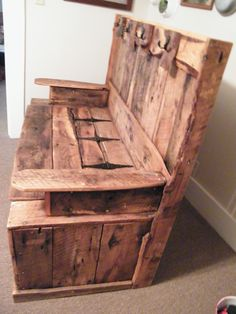 What a great piece to have in the family or pass down to your kids--this is a design I came up with and built from 80+ year old barn wood.    I can build your family one like it, or we can create a unique piece!!  Look at my creations at:    http://davescustomcreations.tumblr.com/