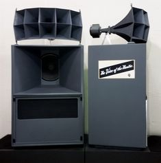 Vintage Altec-Lansing A5 Voice of the Theater loudspeaker system restored to a pristine state by Gary Fischer.
