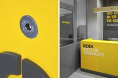 Global rebranding project for Spain´s leading integral car services garages.From strategy, visual identity, signage, interior design (together with Intsight) to the new communication guidelines… we worked on every detail for Rodi´s new brand identity.Th…