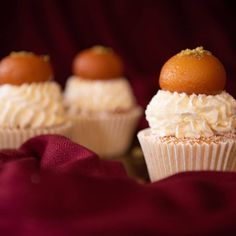 """Ca.ake by Aisha Amjad on Instagram: """"All the flavours of a Gulab Jamun packed into a delicious cupcake and topped with my very own 'homemade' Gulab Jamun for an extra indulgent…"""" Gulab Jamun, Yummy Cupcakes, Nottingham, Homemade, Instagram, Home Made, Delicious Cupcakes, Hand Made"""