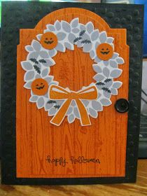 Kristin's Cards and Creations: Wondrous Wreath