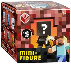 Dig in to the world of Minecraft like never before! 'Buried' inside each 1-pack is a unique Minecraft Mini-Figure just waiting to be discovered -- you never know which figure you'll find next until yo...
