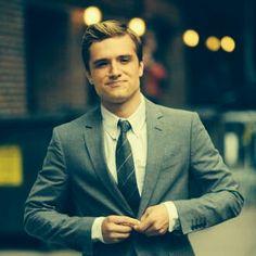Josh in a suit? HOT!