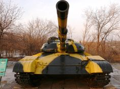 The T-64 is a Soviet main battle tank, introduced in the early 1960s. It was a more advanced counterpart to the T-62: the T-64 served tank divisions, while the T-62 supported infantry in motor rifle divisions. Although the T-62 and the famed T-72 would see much wider use and generally more development, it was the T-64 that formed the basis of more modern Soviet tank designs like the T-80...