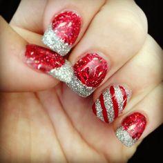 My Christmas Nails :)
