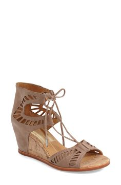 a9dd777d8c56e Dolce Vita  Linsey  Lace-Up Wedge Sandal (Women)