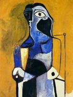 Pablo Picasso. Seated Woman, 1960