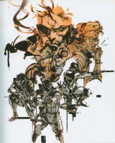 [Album on Imgur - 70 images] Art of Metal Gear Solid by Yoji Shinkawa #Gaming #VideoGames #PCGame #PlayStation #Xbox #Nintendo #SciFi #ScienceFiction #GamesArt #VideoGameArt  #Konami #KojimaProductions  #MetalGearSolid #MGS #TacticalEspionageAction