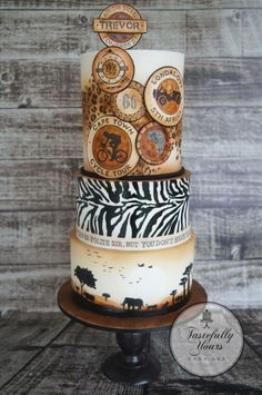 African adventure by Marianne: Tastefully Yours Cake Art