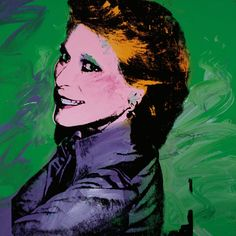 Nan Kempner by Andy Warhol (1973)