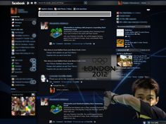Facebook Layouts – Chong Wei, Malaysias Olympic Badminton Hero