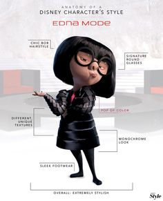 Anatomy of a Disney Character's Style: Edna Mode