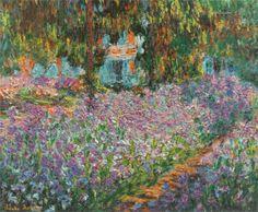 Irises in Monet's Garden 03 1900
