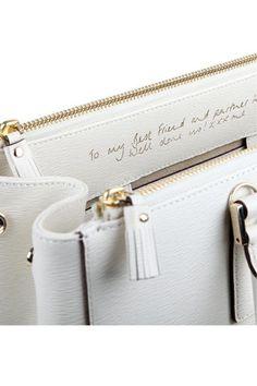 Anya Hindmarch Bespoke Accessories...Personalised Hangbags
