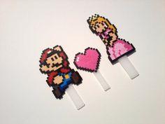 Cake Toppers  Mario and Princess Peach Wedding by BurritoPrincess, $15.00