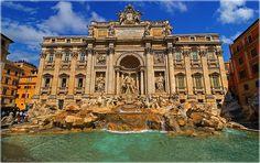 Trevi Fountain Rome, Italy
