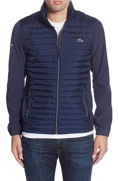 Lacoste Quilted Golf Jacket