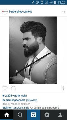 X Hair And Beard Styles