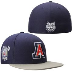 6a9f83dd3d6 Arizona Wildcats New Era Side Filler 59FIFTY Fitted Hat – Navy Blue New Era  Hats
