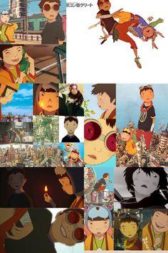 Tekkonkinkreet collage