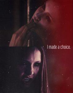 Elena Gilbert-- Vampire