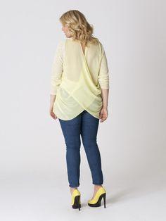 Cross Back Plus Size Top | Madison Plus Select