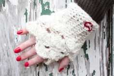 So I thought it would be fun to do a giveaway before Valentine's Day! These mitts are handmade with wool yarn and will fit most hands (about a size Medium).     The winner will be announced Feb 7th, so that I have time to mail the mitts before Valentine's Day.    To enter please:  1. Like my Facebook Page  2. Like this Post  3. Share this Post    You must complete all three to be entered.     Good luck!