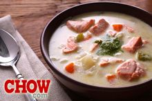 Talk CHOW: Satisfying Salmon Chowder