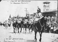Desfile da Força Pública em1924
