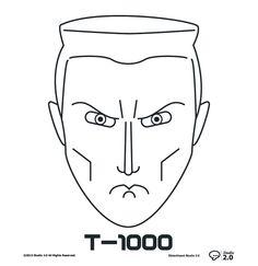 Terminator: T-1000 #dblackhand #studio2.0 #platamala #poster #vector #terminator #design #graphic  #icon #icono #T-1000