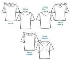São 13 opções para customizar camisetas e baby look. Uma delas será perfeita cabade3b3cb2f