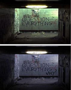 Graffiti, tagging