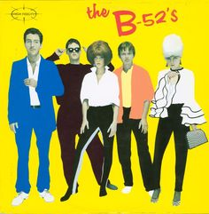 "Released on this day in 1979: The B-52s' self-titled debut album, featuring the singles ""Rock Lobster,"" ""Planet Claire"" and ""Dance This Mess Around."""