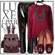Deep Winter outfit