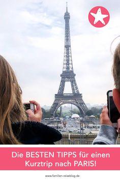 Die besten Tipps für einen Kurztrip nach Paris: Top Ausflugsziele, Parkmöglichkeiten, Spartipps, etc. #paris #parismitkindern #familienreiseblog Tower, Building, Travel, Paris Tips, Holiday Travel, Handy Tips, Family Vacations, Rook, Viajes