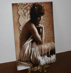 Lady Lace A4 matt print £7.00
