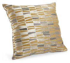 Tiles Camel Pillow - Pillows - Accessories - Room & Board