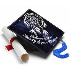 Believe In The Beauty of Your Dreams Grad Cap Tassel Topper