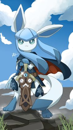 phonewallpaper awesome phonewallpaper awesome Awesome and Cute GlaceonIt kind of looks like Lucina from Fire Emblem, not sure if thats intentional. Pokemon Eevee Evolutions, Mega Pokemon, Pokemon Comics, Pokemon Memes, Pokemon Funny, Pokemon Fan Art, Neko Kawaii, Lolis Neko, Cute Pokemon Pictures