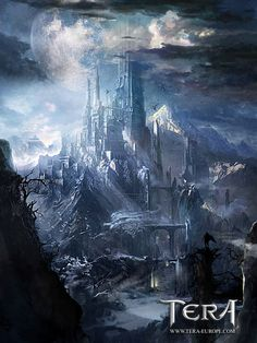 Environment Artwork from TERA: The Exiled Realm of Arborea