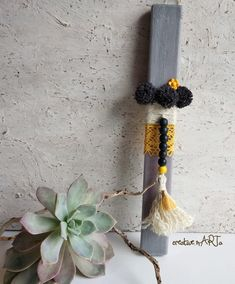 Baby Knitting Patterns, Tassel Necklace, Objects, Easter, Candles, Education, Design, Decorated Candles, Easter Activities