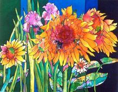 Silk painting class at LTCC   TahoeDailyTribune.com