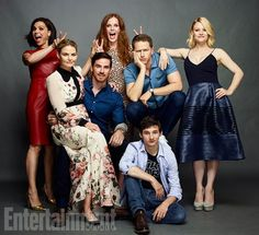 The OUAT cast portrait by Entertainment Weekly at #SDCC2016