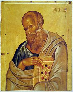 The Holy & Glorious Apostle John The Theologian, son Of Zebedee, Son Of Thunder, and Beloved Of The Lord. Byzantine Art, Byzantine Icons, Religious Icons, Religious Art, John The Evangelist, Russian Icons, Religious Paintings, Best Icons, Art Icon