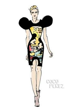 "Minnie Mouse once said, ""So, you wanna be hip. Huh? Huh? Huh? Huh?"" Now, she´s getting turned into one of the hippest fashionistas that has ever graced London Fashion Week. ..."