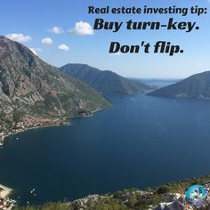When buying #RealEstate, don't try and flip. Buy turn-key properties, which are new or already renovated and have tenants and local #propertymanagement in place! maverickinvestorgroup.com  #RealEstateInvesting #RealEstateAdvice