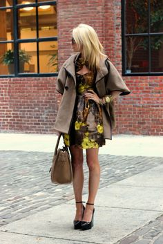 love these fall colors and sophisticated combination.  Wouldn't wear pointy wedges, but yes on the black patent.