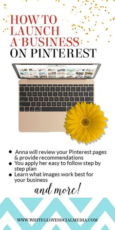 You'll receive a clear and concise plan so you avoid feeling overwhelmed and gain confidence in your Pinterest marketing skills. This Pinterest Strategic Review will save you months of frustration, time researching and keeping up with all the latest rules on Pinterest. Don't let your competition get ahead of you. Pinterest expert Anna Bennett will figure it all out for you! Learn more at http://www.whiteglovesocialmedia.com/pinterest-strategic-page-review-+marketing/ | Pinterest...