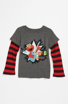 Mighty Fine 'Rock Monster' T-Shirt (Toddler) available at #Nordstrom