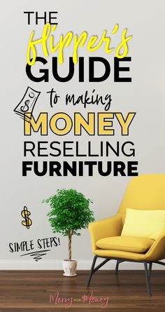 DIY Guide to Making Income Reselling & Flipping Furniture Furniture Makeover DIY DIY Flipping Furniture Guide Income Making Reselling Flip Furniture For Profit, Diy Furniture To Sell, Selling Furniture, Repurposed Furniture, Furniture Makeover, Cool Furniture, Furniture Plans, Vintage Furniture, Wooden Furniture
